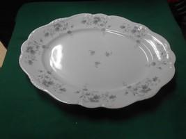Beautiful Collectible Johann Haviland Bavaria Blue GARLAND-...Large .Platter - $13.57