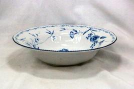 """Noritake 2001 Regis Blue #4235 10"""" Round Serving Bowl - $17.32"""