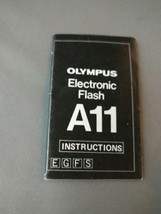 Olympus A11 Electronic Flash - Instruction Manual - $6.00