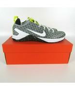 Nike Metcon DSX Flyknit 2X Mens Black White Yellow Training Running AO28... - $98.88