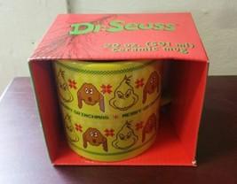 Dr. Seuss The Grinch Merry Grinchmas Ugly Sweater 20 Ounce Ceramic Mug G... - $29.69