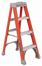 4-Ft. Step Ladder, Fiberglass, Type IA, 300-Lb. Duty Rating - $111.86