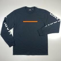 Harley Davidson Long Sleeve T-Shirt Men's S L 2XL 3XL Black Sleeve Spell... - $19.95