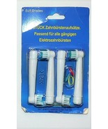 4 Pack U.S. Dupont Oral B Soft Bristle Electric Toothbrush Replacement H... - $9.69