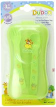 Bebe Dubon Fork and Spoon with Travel Case, Colors May Vary - $5.87