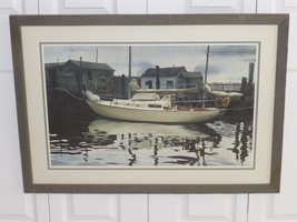 MILDRED SANDS KRATZ AMERICAN WATERCOLOR SOCIETY (AWS) 1981 LARGE SIGNED ... - $199.00