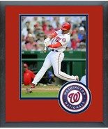 Juan Soto Hits Home Run for His First Major League Hit-11x14 Matted/Fram... - $42.95