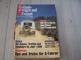 1997 Mercedes Gelande Wagon Sales Brochure Parts  - $19.99