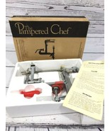 The Pampered Chef Apple Peeler/Corer/Slicer #2430 Preowned Open Box - $32.18