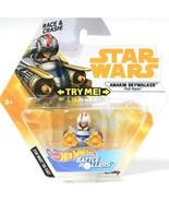 Star Wars Hot Wheels Anakin Skywalker Pod Racer Die Cast Battle Rollers ... - $10.99