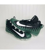 Nike Mens Alpha Menace Pro Mid Football Lacrosse Cleats Green SZ 16 9228... - $29.03