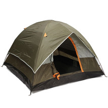 4 Persons Camping Tent Sunshade Double Layer Waterproof Windproof Anti-UV - $80.35