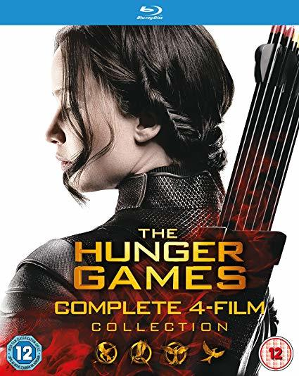 The Hunger Games - Complete 4 Film Collection  [Blu-ray]
