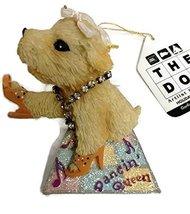 "Kurt S. Adler The Dog Resin 3"" Ornament (Dancin' Queen) - $15.00"