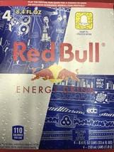 Red bull Energy Drink Edc 8.4oz Cans 4PK lolla Palo Oza Gov Ball Nyc - $24.99