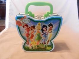 Disney Fairies, Tinker Bell Metal Girls Purse, trinket holder - $12.61