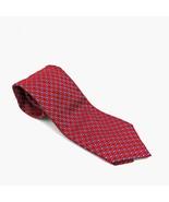 "Current ERMENEGILDO ZEGNA  Red Floral Woven Silk Tie 60"" L - $49.49"