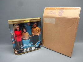 Barbie & Ken Star Trek 30th Anniversary Set Sealed Collector Edition 1996 - $25.32