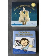 On the Night You Were Born & It's Bedtime For Little Monkeys Board Book ... - $7.99