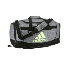 JERSEY BLACK/HIRES YELLOW adidas Defender III Medium Duffle Bag (D) - $168.29