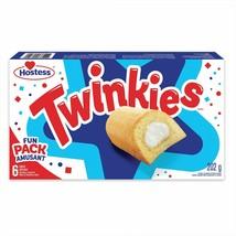 1 Box Twinkies Hostess  - 6 Cakes In Each Box -202g- Canada- FRESH & DEL... - $13.14