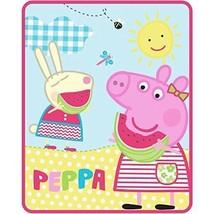 Peppa Pig Silky Soft Throw Blanket - 40 in. x 50 in. - $58.74