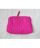 Marc Jacobs Cosmetic Bag Quilted Neoprene Pink Light Use - $47.52