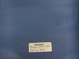 Zweigart Congress Cloth Blank 24 Mesh Needlepoint Canvas Country Blue - $9.98+