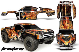 Amr Rc Graphic Decal Kit Upgrade Proline Chevy Silverado 4 Traxxas Slash - Fire - $29.65