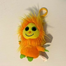 New Ty Frizzys Tang Orange Plush Stuffed Bean Bag Toy Animal Keychain - $8.59