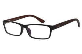 EBE Mens Womens Reading Glasses Black Retro Style Hardwood Temples Readers - $20.69+