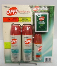 Deep Woods Off! Insect Repellent Family Care Pack (11 pieces) - $19.79