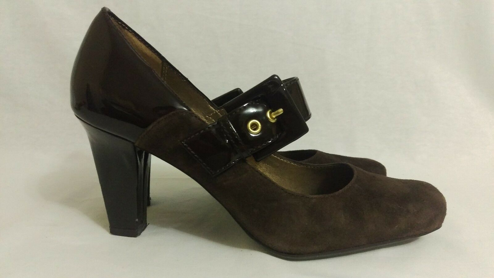 Franco Sarto Women's Brown Shoes size 6M heels image 4