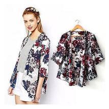 New Summer Women Kimono Boho Cardigan Fashion Ladies Chiffon Shirt - $23.99