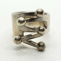 AGE ANNA GRETA EKER NORWAY DESIGN ND STERLING 925 RING MOD JESTER SILVER... - $139.99