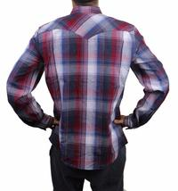 NEW LEVI'S MEN'S CLASSIC COTTON CASUAL BUTTON UP LONG SLEEVE PLAID 3LYLW6072 image 3