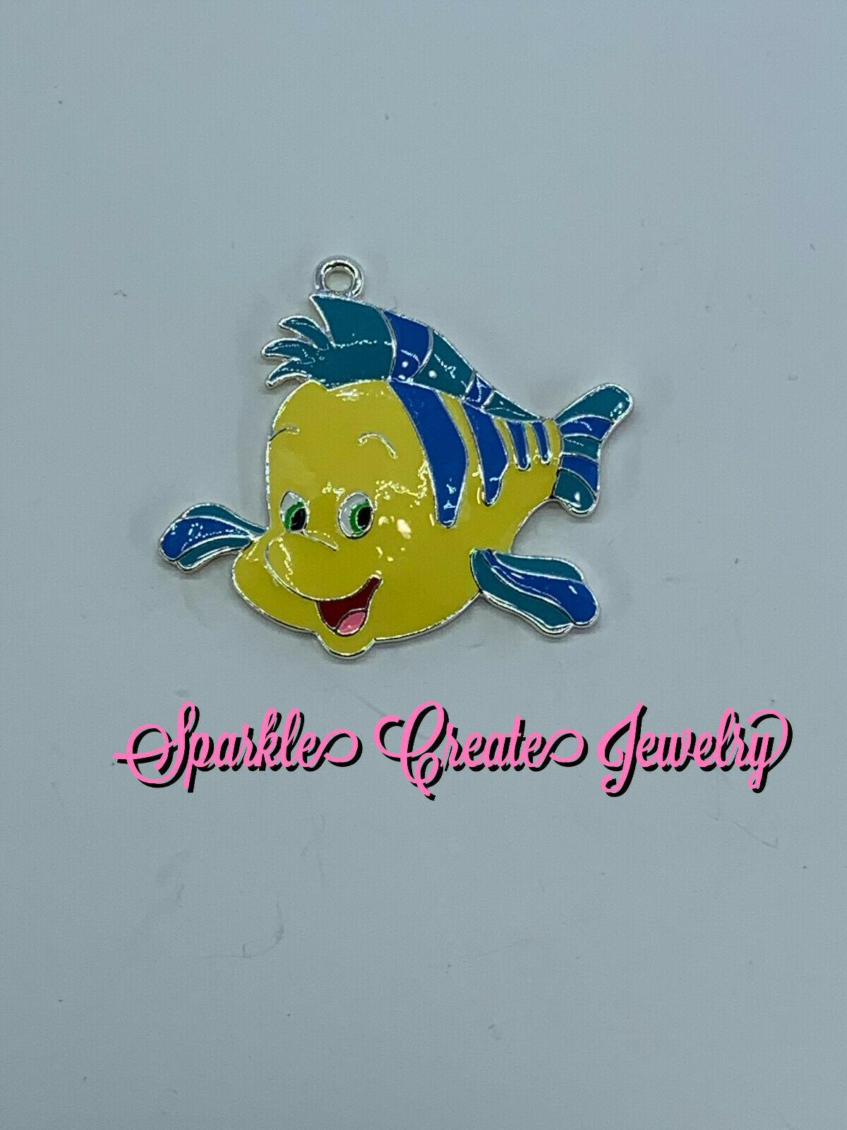 Disney Flounder Pendant