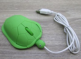 new GREEN TURTLE Optical USB Wired COMPUTER MOUSE Mice For PC Laptop tor... - $6.27