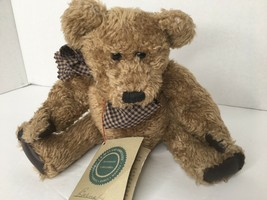 """Boyds Bears 10"""" J.B. Bean & Associates Investment Collectables Barnaby 1985 - $19.79"""