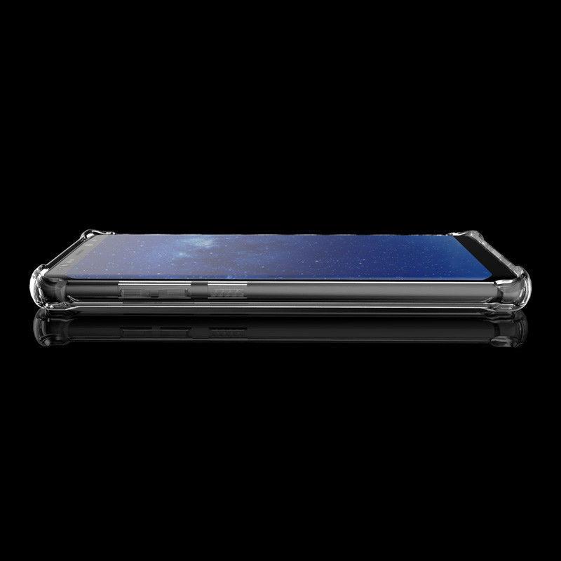 Galaxy Note 8 Crystal Clear Case ShockProof Drop Resistant Hybrid TPU Samsung