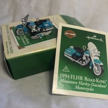 Hallmark Harley-Davidson Christmas Ornament 1994 FLHR Road King Motorcycle - $29.69