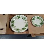 Vintage NEW Franciscan Ivy 3 piece set in original box – plate, saucer a... - $25.00
