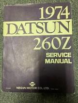 1974 Datsun 260Z Service Repair Shop Workshop Manual OEM  - $158.35
