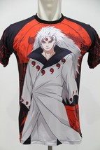 NARUTO MADARA SIX PATH FULLPRINT TEE T-SHIRT - $21.68