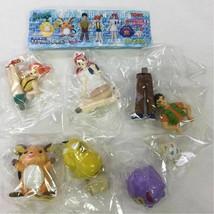 Tomy Pokemon Real Figure Part 2 Lot of 6 Complete Brock Nurse Joy Misty - $69.80