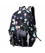 Women Backpack Waterproof Canvas Travel Large Capacity Printed Girls Sch... - $40.07+