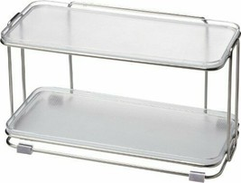 "*Squirrel ""seasoning rack"" static vias Luxe stainless rack 3P clear - £44.42 GBP"