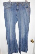 Arizona J EAN Co. Jeans Sz 15 Junior Women Stretch Blue Denim Boot Cut - $21.77