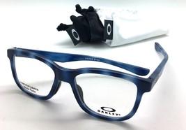 Oakley OX8106 Cross Step Polished Blue Tortoise Eyeglasses 50 16 135 - $87.27