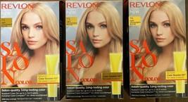 (3) Revlon Salon Color 9A Light Champagne Blonde Color Booster Kit For Week 3&6 - $28.28